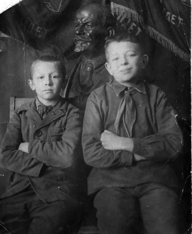 10-я школа. Отличники. 1940