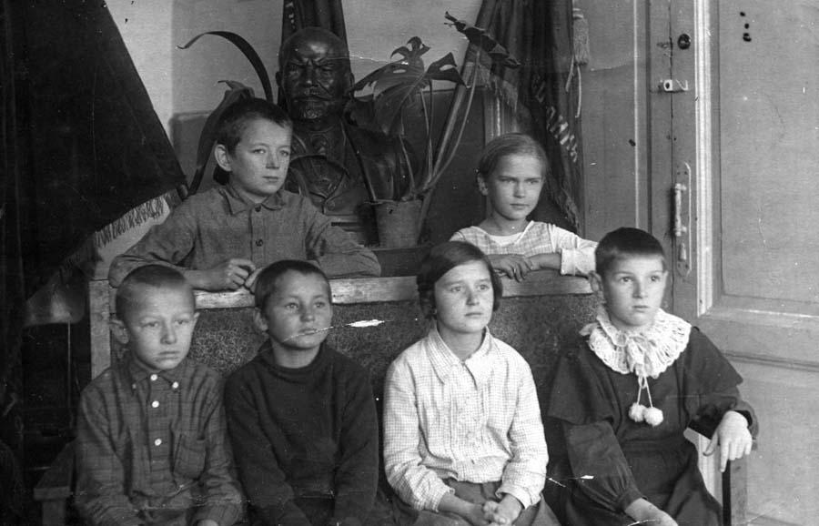 10-я школа. Отличники. 1939
