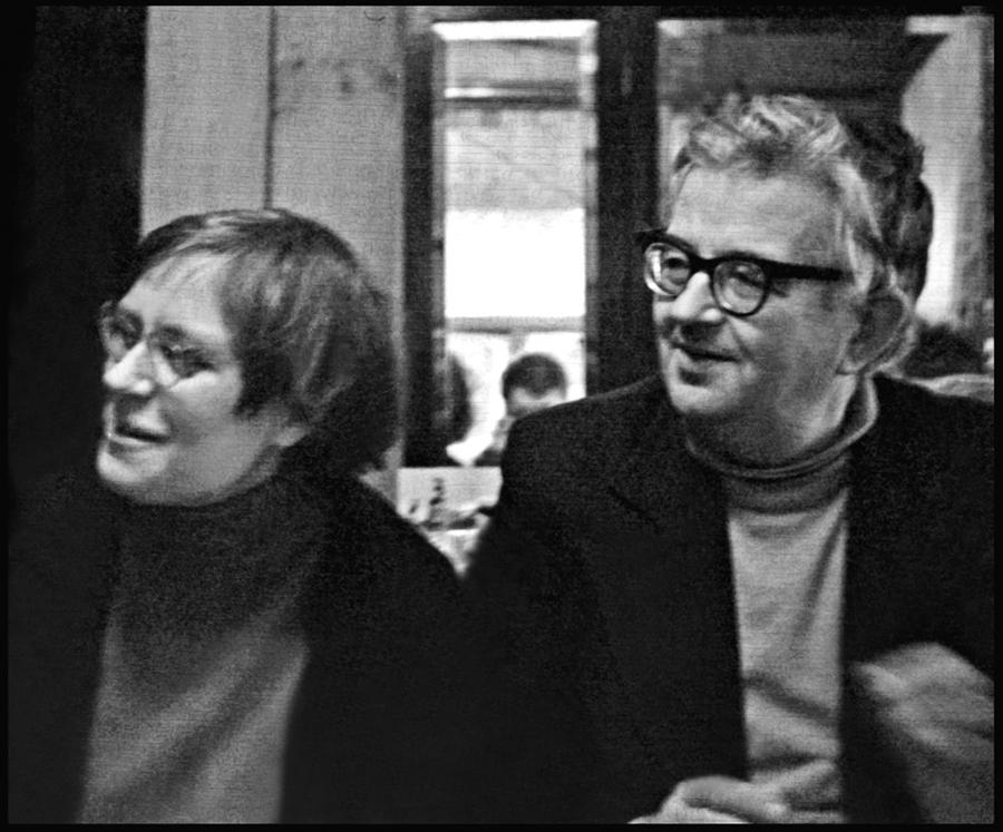 С Татьяной Александровой. Ок. 1976