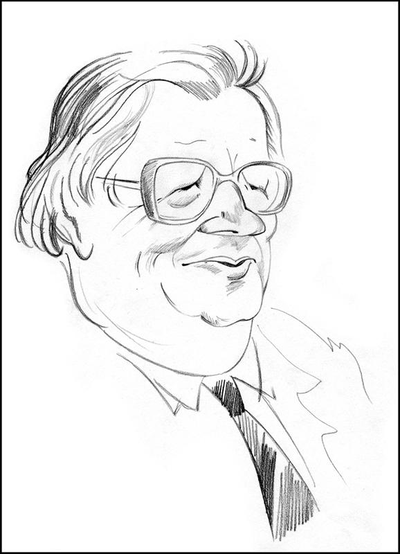 ВБ. Рисунок В.Лосева. 1985