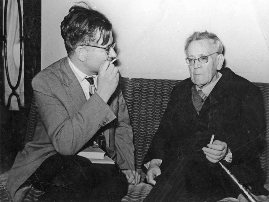 В. Берестов и С. Маршак