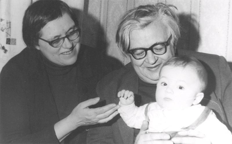 С женой Татьяной Александровой