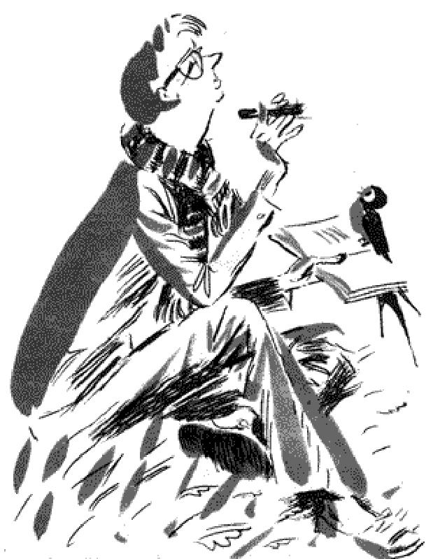 ВБ. Рисунок Л.Токмакова