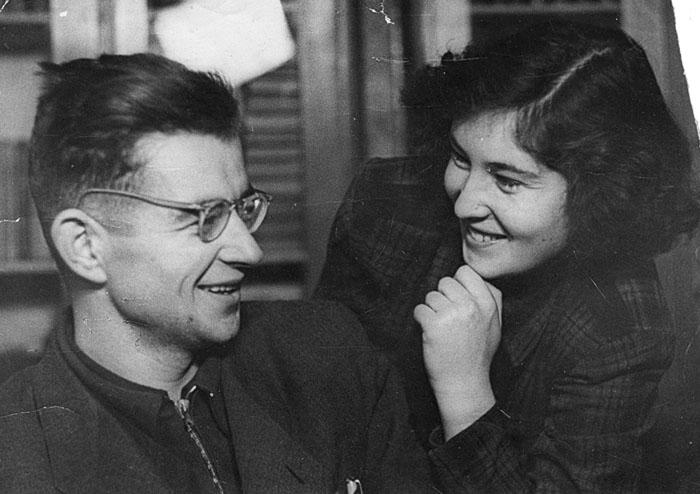 Валя и Лариса Берестовы