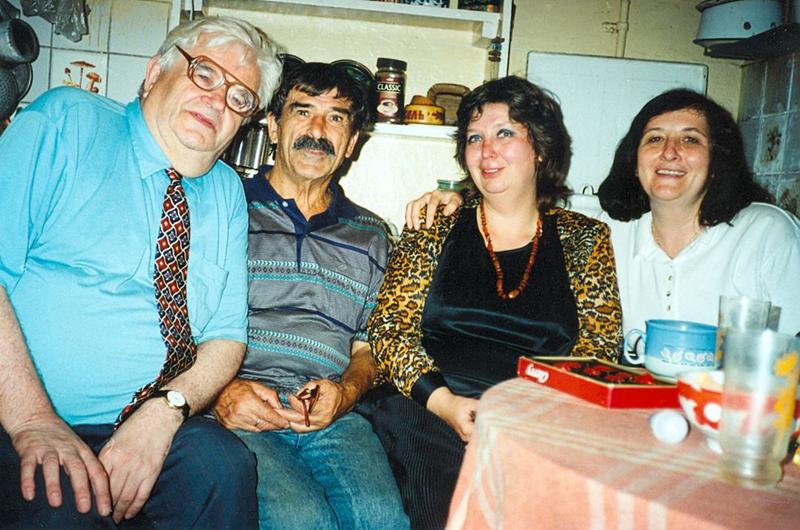 С Завеном и Ниной Аршакуни