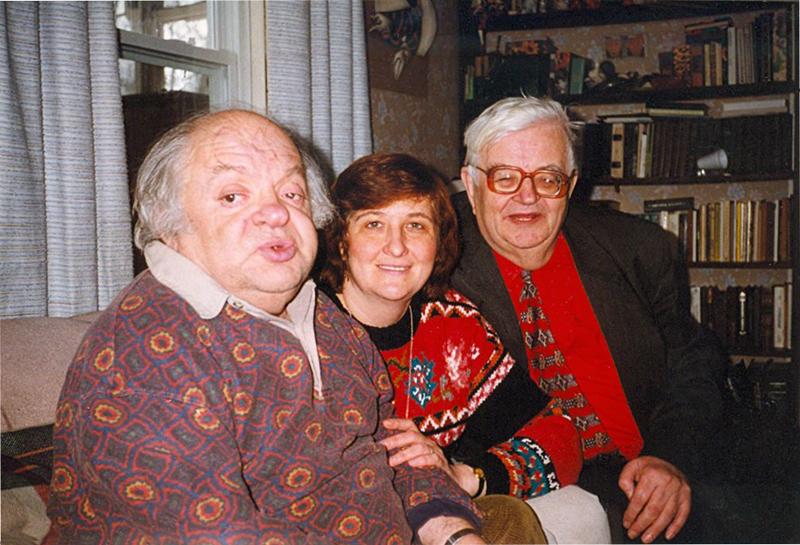 Бостон. С Наумом Коржавиным. Март 1998