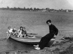 Химкинское водохранилище. 1948