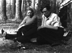 Александра Прохоркина и Валентин Берестов. Калуга. 2.05.1955 г