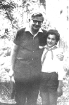 Лиза Бабаева и Валентин Берестов. Начало 1970-х гг.