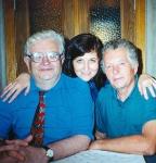 Калуга. Дочь Марина и брат Дима. 1996
