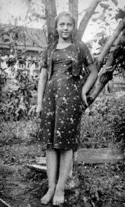 Ляля Пчёлкина. 1940
